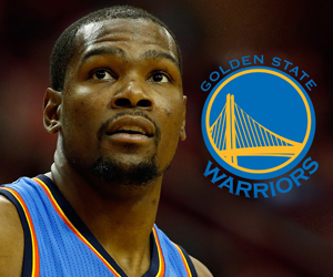 Durant's decision shakes NBA title odds, creates two new Warriors props