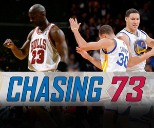 Wager on the Warriors' run at the 72-win Bulls